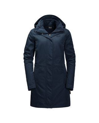 Jack Wolfskin Ottawa Coat - Midnight Blue