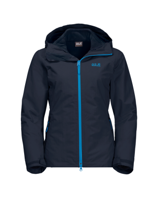 Jack Wolfskin Gotland 3in1 W - Midnight Blue