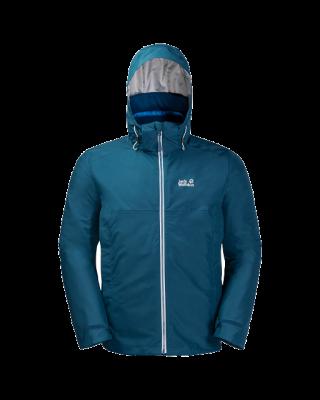 Jack Wolfskin North Fjord Jacket M - Poseidon Blue