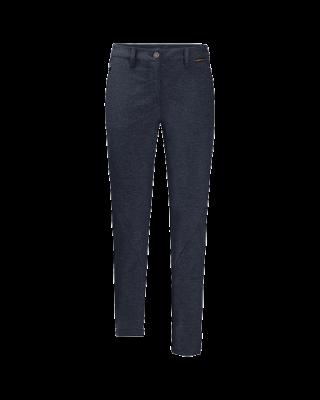 Jack Wolfskin Winter Travel Pants Women - Midnight Blue