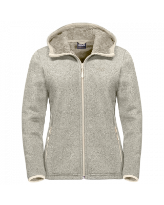 Jack Wolfskin Lakeland Jacket Women - White Sand