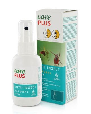 Care Plus Anti-Insect Natural Spray - 60 ml