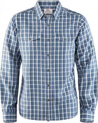 Fjallraven Abisko Cool Shirt LS - Uncle Blue