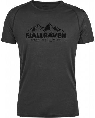 Fjallraven Abisko Trail T-shirt Print - Dark Grey