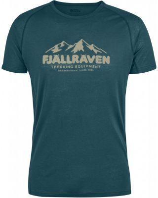 Fjallraven Abisko Trail T-shirt Print - Glacier Green
