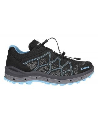 Lowa Aerox GTX Lo Ws - Black/Ice Blue