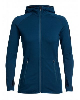 Icebreaker Women's Atom Long Sleeve Zip - Largo