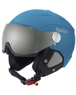 Bolle Backline Visor - Soft Blue & Silver