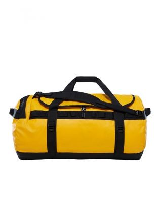 The North Face Base Camp Duffel Large - Summit Gold- TNF Black