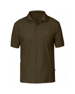 Fjallraven Crowley Pique Shirt - Dark Olive
