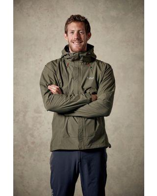 Rab Downpour Jacket - Field Green