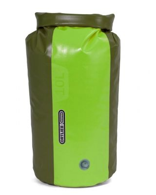 Ortlieb Dry Bag PD 350 10 L met ventiel - Olive/Lime