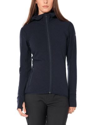 Icebreaker Women's Descender LS Zip Hood