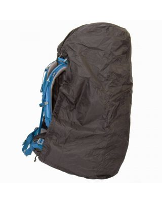 Lowland Raincover Flightbag Zwart