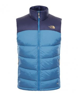 The North Face Nuptse 2 Vest - Dish Blue/Cosmic Blue