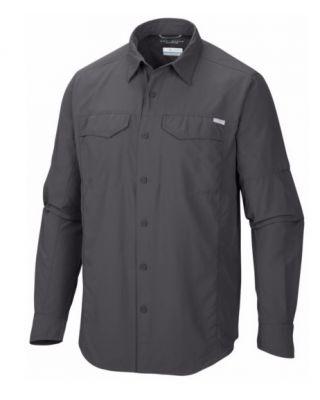 Columbia Silver Ridge Long Sleeve Shirt - Grill