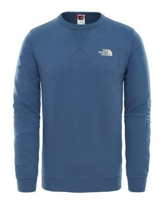 The North Face M Street Fleece Pullover - Shady Blue/Vintage White