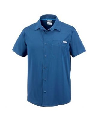 Columbia Triple Canyon Solid Short Sleeve - Carbon