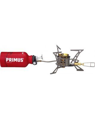 Primus OmniLite Ti met brandstoffles