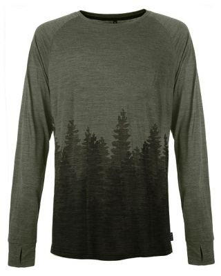 Pally 'Hi Men's Long Sleeve Organic Skyline