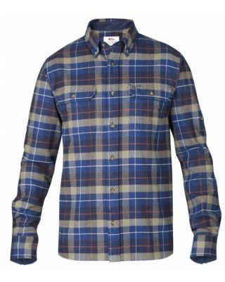Fjallraven Sarek Heavy Flannel Shirt Navy