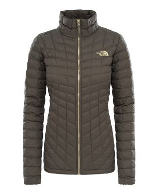 The North Face W Thermoball Full Zip Jacket - New Taupe Green