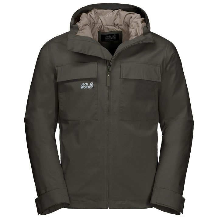 Jack Wolfskin Winter Rain Jacket Men