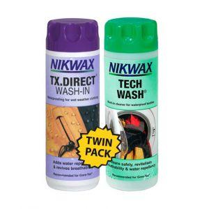 Nikwax Twin Pack TX-Direct met Tech Wash 300ml