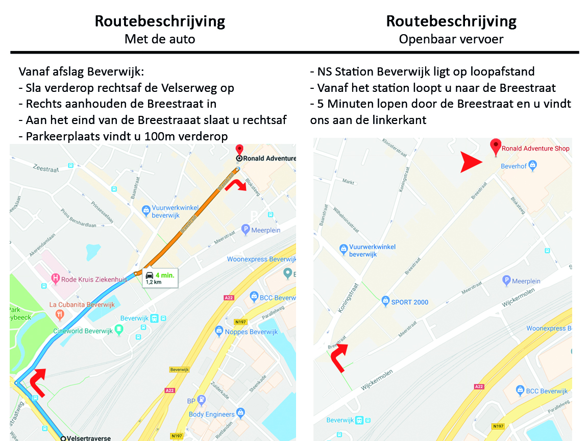 Routebeschrijving